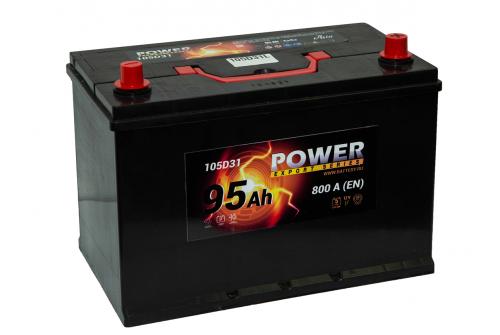 АКБ POWER 95Аз А/ч евро D31L