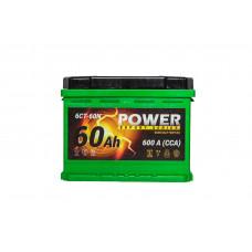 АКБ POWER 60Аз А/ч евро